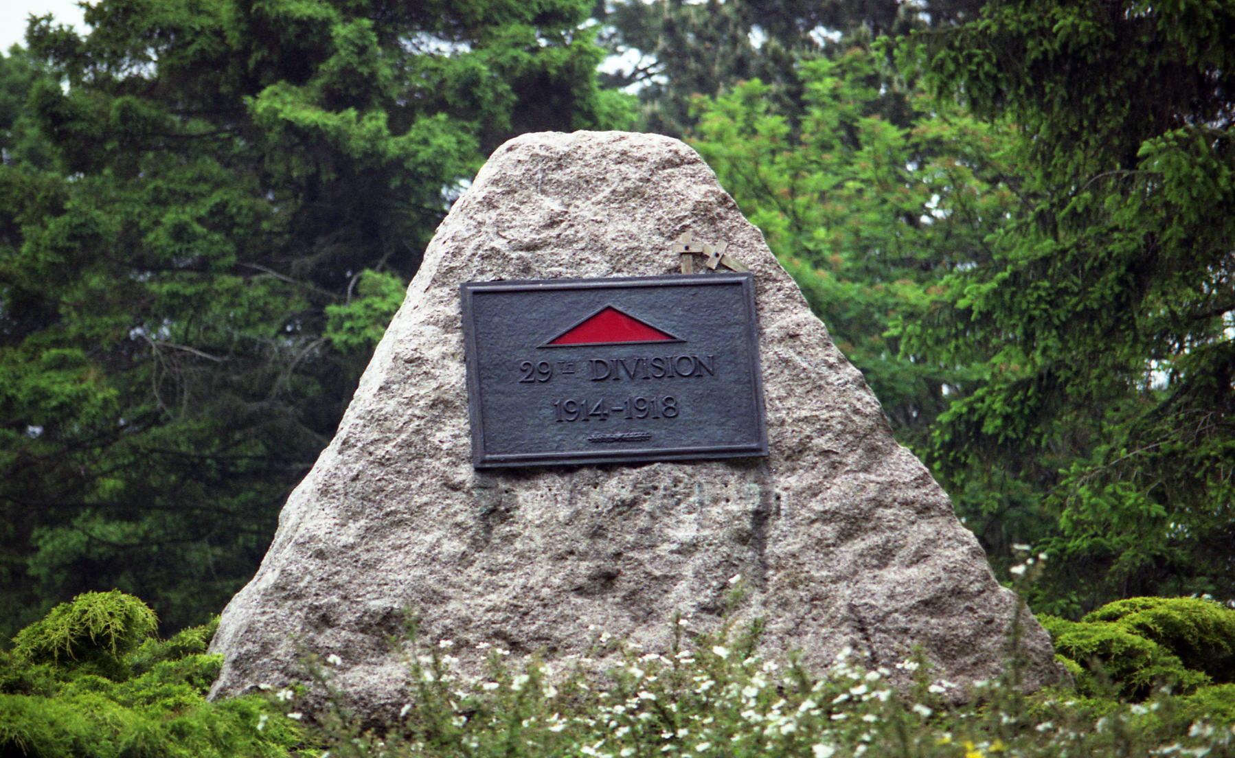 29th Division Memorial