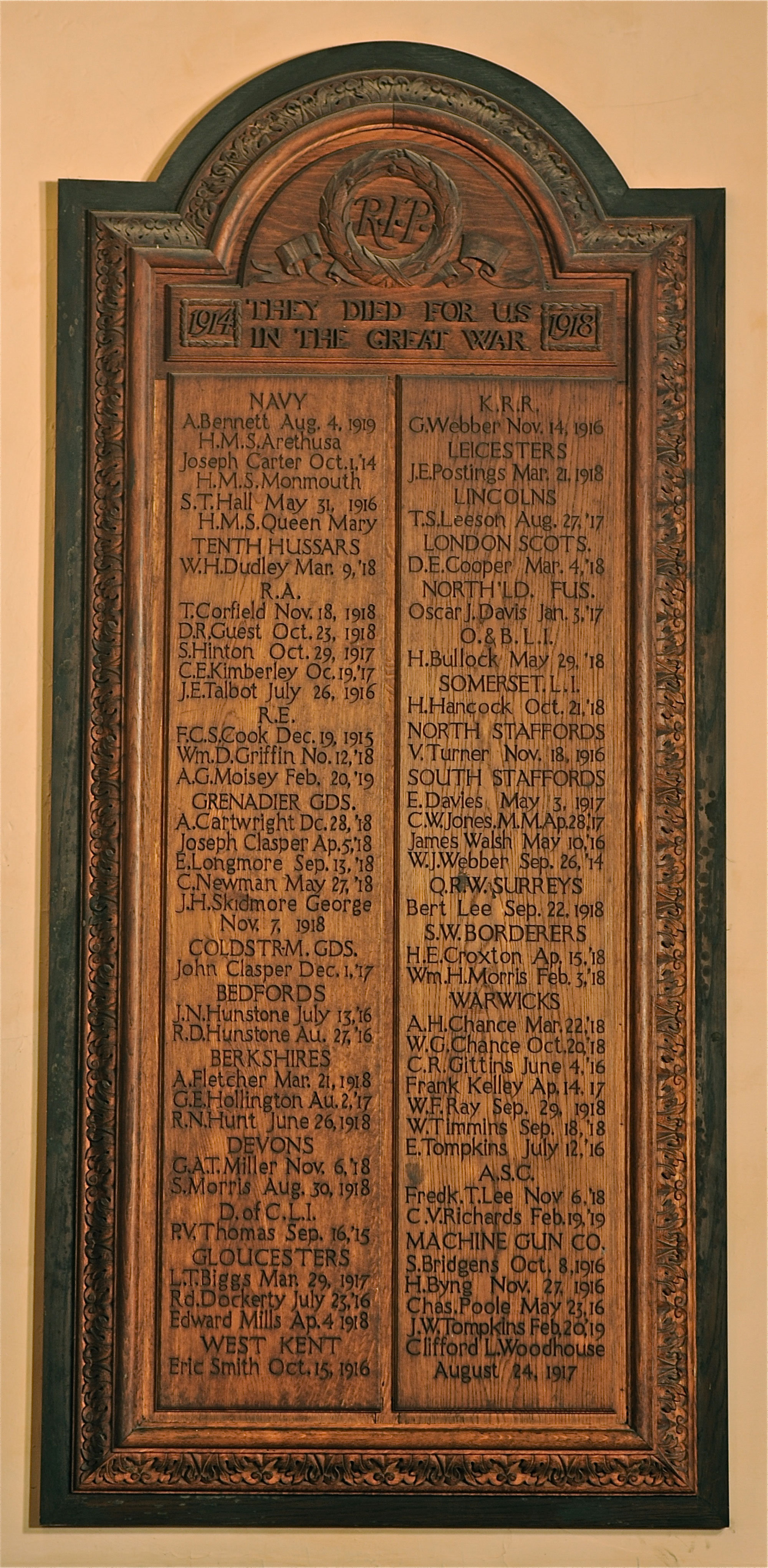 Stourbridge St. Thomas Memorial