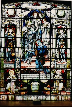 St. Michaels church stained glass window