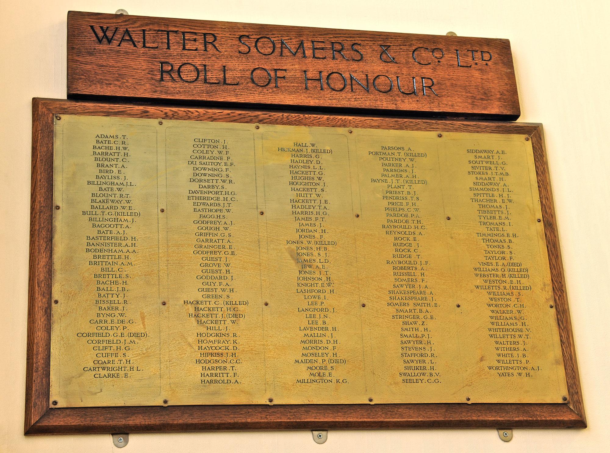 Halesowen Walter Somers Ltd